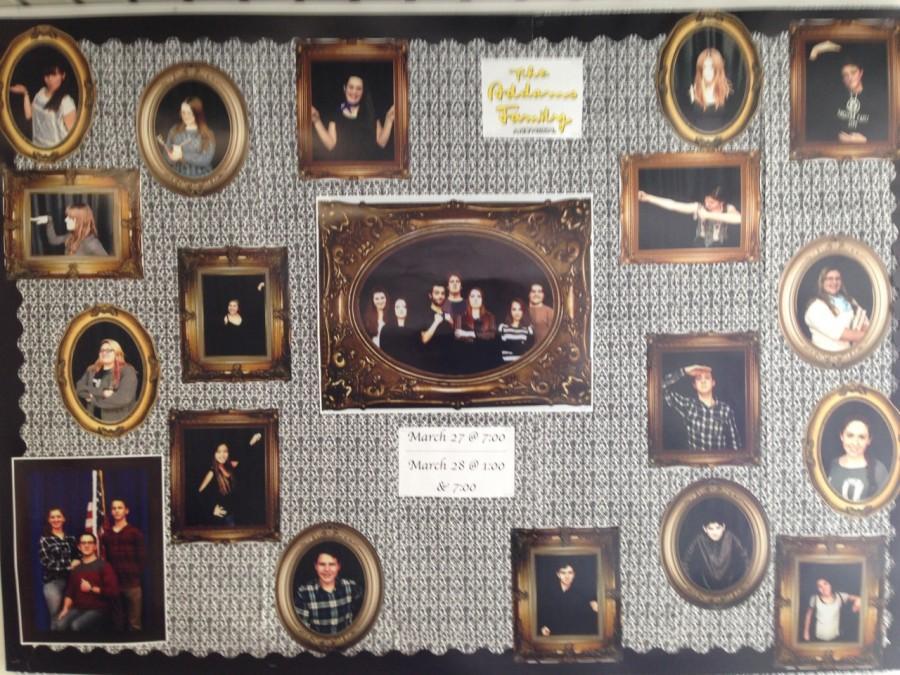 Bulletin board in the