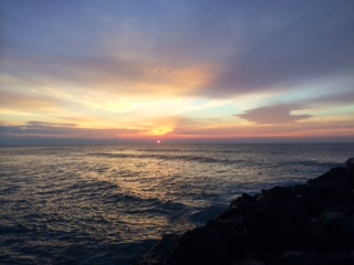 Sunrise over Brant Beach 1