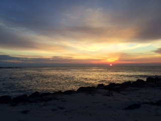 Sunrise over Brant Beach 2