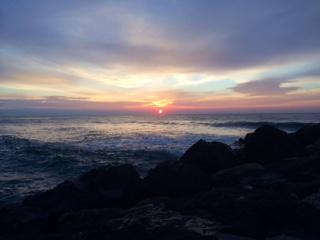 Sunrise over Brant Beach 3