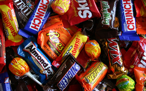 Leftover Halloween Candy Treats