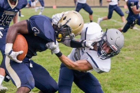 Worthy's 10 Touchdowns Power Colonials to First State Win Since 2010