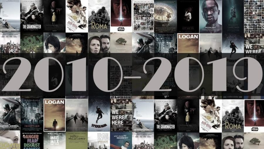 Top Movies Throughout the Decade
