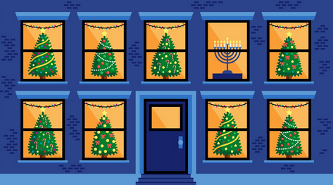 Growing Up Jewish During Christmas